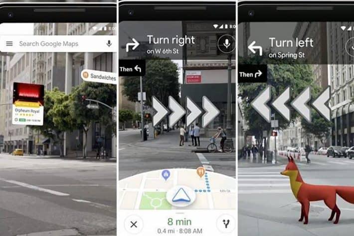 ¡Genial! Así se ve Google Maps con realidad aumentada, hasta dan ganas de perderse