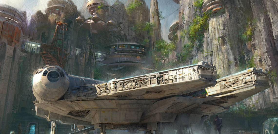 ¡Ufff! Recorre el Millennium Falcon, maneja una nave de combate y hasta come en un planeta desconocido